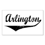Arlington Rectangle Sticker
