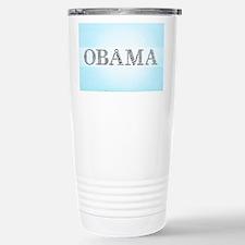 Typo Cram Obama Stainless Steel Travel Mug