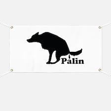 Poop on Palin Banner
