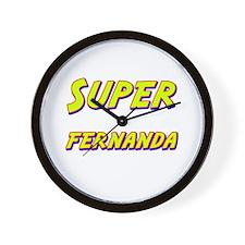 Super fernanda Wall Clock