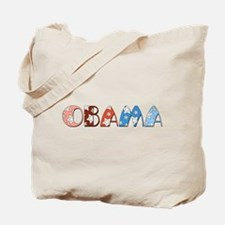 Starry 1920s Obama Tote Bag