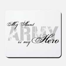 Aunt is my Hero ARMY Mousepad
