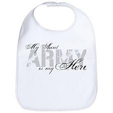 Aunt is my Hero ARMY Bib