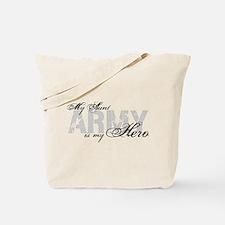 Aunt is my Hero ARMY Tote Bag