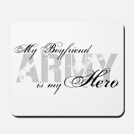 Boyfriend is my Hero ARMY Mousepad