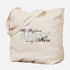Boyfriend is my Hero ARMY Tote Bag