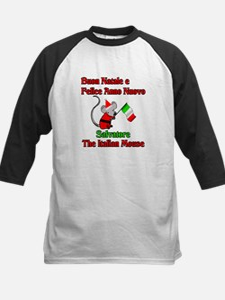 Salvatore the Italian Christmas Mouse Tee