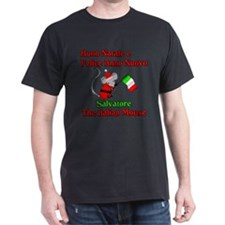 Salvatore the Italian Christmas Mouse T-Shirt