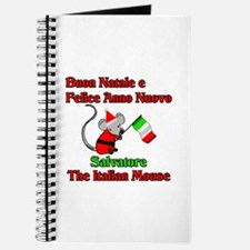 Salvatore the Italian Christmas Mouse Journal