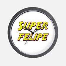 Super felipe Wall Clock