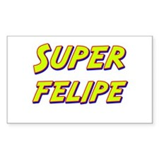 Super felipe Rectangle Decal