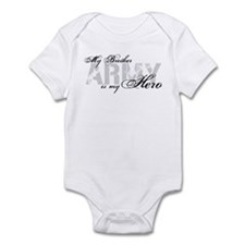 Brother is my Hero ARMY Infant Bodysuit