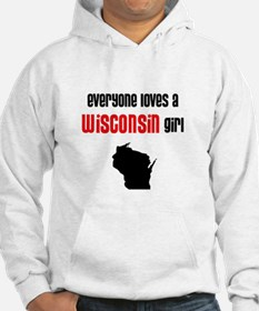 Everyone Loves a Wisconsin Girl(Jumper Hoody)
