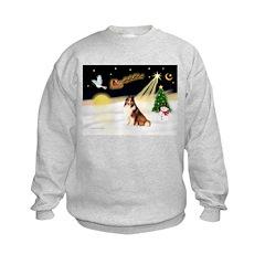 Night Flight/Sheltie #7 Sweatshirt