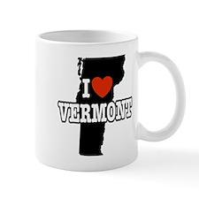 I Love Vermont Mug