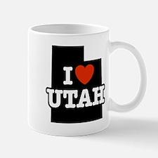 I Love Utah Small Small Mug