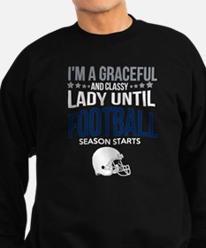 Cute Football Sweatshirt (dark)