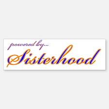 SGRho Sisterhood Bumper Bumper Bumper Sticker