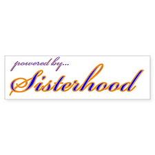 SGRho Sisterhood Bumper Bumper Sticker