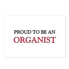 Proud To Be A ORGANIST Postcards (Package of 8)