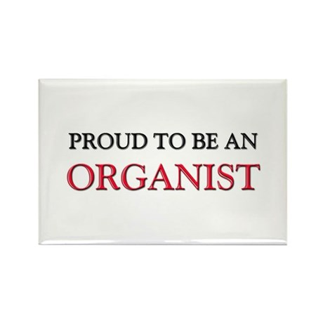 Proud To Be A ORGANIST Rectangle Magnet (10 pack)