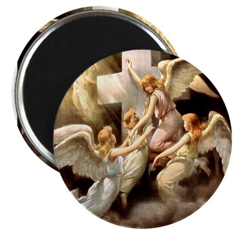 """Rock of Ages 2.25"""" Magnet (100 pack)"""