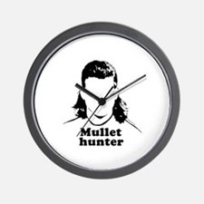Mullet Hunter ~  Wall Clock