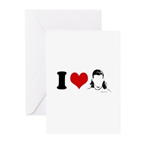 I Love Mullets ~ Greeting Cards (Pk of 10)