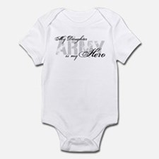 Daughter is my Hero ARMY Infant Bodysuit