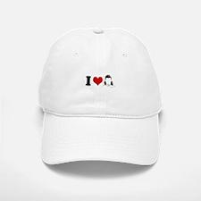 I Love Mullets ~ Baseball Baseball Cap