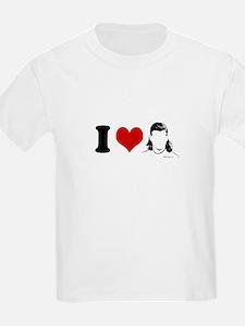 I Love Mullets ~  Kids T-Shirt