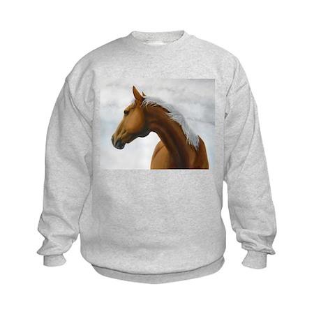 Palomino Stallion Kids Sweatshirt