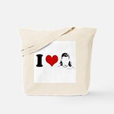 I Love Mullets ~  Tote Bag