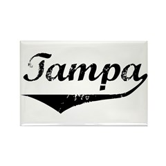 Tampa Rectangle Magnet (10 pack)