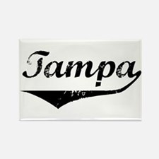 Tampa Rectangle Magnet