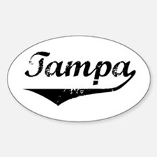 Tampa Oval Decal