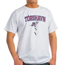 Torshavn Map T-Shirt