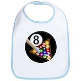 8 ball Cotton Bibs