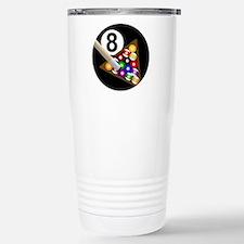 8 Ball Stainless Steel Travel Mug