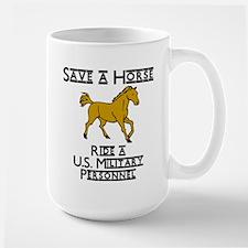 US Military Personnel Mug