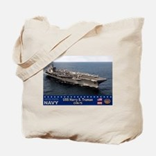 USS Harry S. Truman CVN-75 Tote Bag
