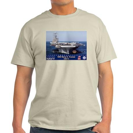 USS Harry S. Truman CVN-75 Light T-Shirt