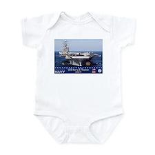 USS Harry S. Truman CVN-75 Infant Bodysuit