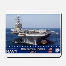USS Harry S. Truman CVN-75 Mousepad
