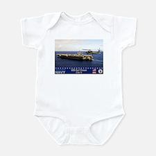 USS Carl Vinson CVN-70 Infant Bodysuit