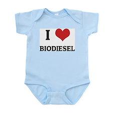 I Love Biodiesel Infant Creeper