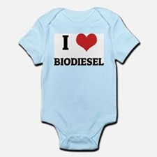 I Love Biodiesel Infant Creeper