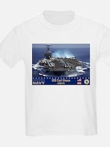 USS Carl Vinson CVN-70 T-Shirt