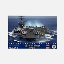 USS Carl Vinson CVN-70 Rectangle Magnet