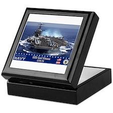 USS Carl Vinson CVN-70 Keepsake Box